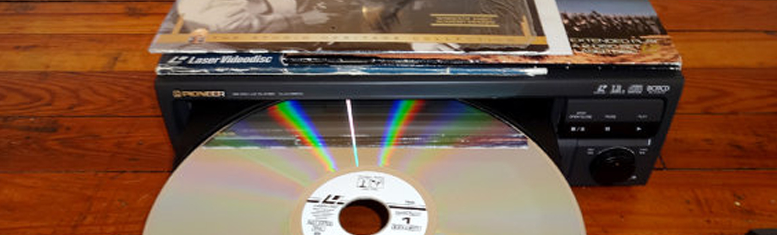Laser Disc Conversions to Digital File or DVD in Oxfordshire UK